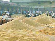 बाजार समितीमध्ये शेतकऱ्यांचा मुक्काम