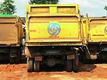 तुमसरमध्ये रेतीचे पाच ट्रक जप्त