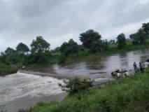 वर्धा जिल्ह्यातील खैरी गावाचा संपर्क तुटला; धाम नदीला पूर