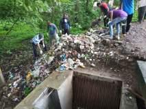 अकरा दिवसांत कोल्हापूर शहरातील दहा हजार टन कचरा, गाळ उचलला
