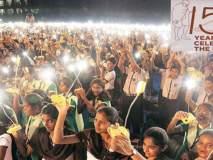 लाखो सौरदिव्यांतून जग करणार महात्मा गांधींना अभिवादन