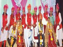 'सेवाप्रीत'ने बांधली दिव्यांगांची लग्नगाठ : लग्न सोहळ्याचा केला सर्व खर्च