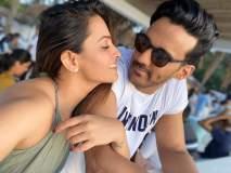 गोव्यात नवऱ्यासोबत रोमँटिक मूडमध्ये दिसली अनीता हसनंदानी, यॉटवर दिसले किस करताना