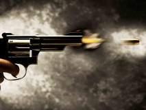 भरदिवसा केलेला तरूणावर गोळीबार सीसीटीव्हीत कैद
