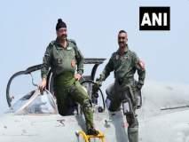 नव्या रूपात- नव्या जोशात अभिनंदनची 'भरारी';हवाईदल प्रमुखांसोबत मिग २१मधून उड्डाण