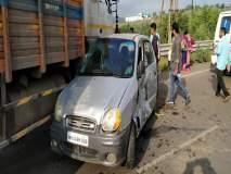 एस वळणावर पुन्हा दुर्घटना; ब्रेक निकामी झाल्याने सात वाहनांना धडक