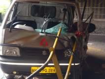 नवीन कात्रज बोगद्याजवळ अपघात ; तरुणाचा जागीच मृत्यू
