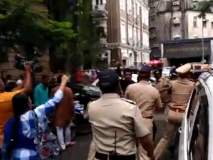 ईडी कार्यालयाबाहेर राष्ट्रवादीच्या पदाधिकाऱ्यांचे आंदोलन; पोलिसांचा लाठीचार्ज