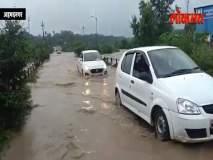 नगरमधल्या मुसळधार पावसानं सीना नदीला पूर