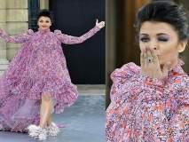 Trending: ती आली, तिनं पाहिलं आणि तिनं जिंकलं, पॅरिस फॅशन वीकमध्ये ऐश्वर्या रायचा बोलबाला