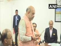 Lok Sabha Election 2019 : अमित शहांचा गांधीनगरमधून उमेदवारी अर्ज, उद्धव ठाकरे उपस्थित