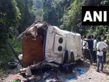 आंध्र प्रदेशमध्ये बसचा भीषण अपघात, 8 जणांचा मृत्यू