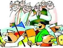 Maharashtra Assembly Election 2019 :निवडणुकीत भरला रंग