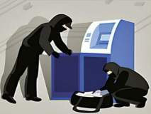 राय येथील सेंट्रल बँकेचे एटीएम फोडण्याचा प्रयत्न