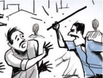 ठाण्यात रिक्षाचालकाच्या डोक्यावर दगडाने प्रहार करून मारहाण