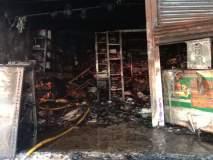 औरंगाबादमध्ये गॅरेजला भीषण आग