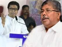 Maharashtra Election 2019: पूर आला तेव्हा राज ठाकरे कुठं होते? चंद्रकांत पाटलांचा 'मनसे'ला सवाल?