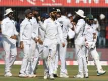 India vs Bangladesh, 1st Test: टीम इंडियाच्या जलदगती गोलंदाजांचा भेदक मारा; बांगलादेशची शरणागती