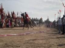 Sant Tukaram Maharaj Ringan: विठू नामाच्या गजरात डोळ्यांचं पारणं फेडणारं पहिलं रिंगण