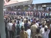 Bharat Bandh : काँग्रेसचा अंधेरी स्थानकात रेलरोको