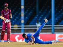 India vs West Indies 2nd ODI: भुवनेश्वरचा भेदक मारा, भारताची वेस्ट इंडिजवर मात