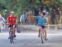 सायकल रॅलीतून पुण्याच्या जुन्या अाठवणींना उजाळा