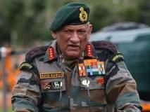 गरज पडल्यास नियंत्रण रेषादेखील ओलांडू; लष्करप्रमुखांचा पाकिस्तानला इशारा