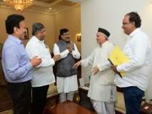महाराष्ट्र निवडणूक 2019: ...म्हणून राज्यपालांची भेट घेतली; चंद्रकांत पाटलांनी सांगितलं कारण