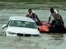 Video : नवीन Jaguar कार देण्यास वडिलांनी दिला नकार, बिघडलेल्या मुलाने नदीत ढकलून दिली BMW कार!