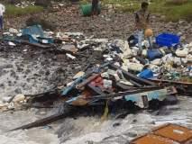 रत्नागिरीच्या समुद्रात मासेमारी नौका बुडाली; ५ खलाशी बचावले, एक बेपत्ता
