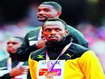 जागतिक अॅथलेटिक्स स्पर्धा : पदक वितरण सोहळ्यातही गॅटलिनचे हुटिंग