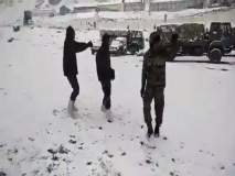 Video: उणे शून्य डिग्री तापमानात जवानांनी खेळलेला गरबा पाहिलात का?