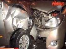 मुंबईतल्या अंधेरीत तीन कारचा अपघात; 8 जण जखमी