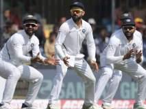 भारताच्या खेळाडूंनी सोडले पाच झेल; तरीही बांगलादेश झाला पहिल्या डावात फेल