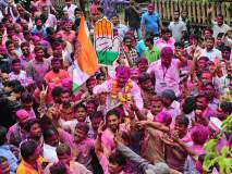 Maharashtra Assembly Election 2019 चंद्रकांत जाधव यांच्या विजयामुळे पेठेला प्रथमच आमदरकी-मंगळवार पेठेत दिवाळीपूर्वी दिवाळी
