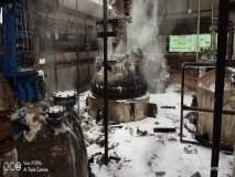 डोंबिवलीत पेरोक्सि केम कंपनीला आग; एक कामगार जखमी