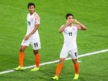 भारतीय कर्णधार सुनील छेत्रीने स्टार फुटबॉलपटू लिओनेल मेस्सीला मागे टाकले