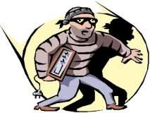 पिंपरी चिंचवड शहरात चोरीच्या पाच घटना