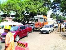 गोवा महामार्ग चौपदरीकरणाच्या कामाला गती