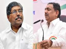 Maharashtra Election 2019: आयत्या बिळात 'चंदूबा'; राष्ट्रवादीनं काढला चंद्रकांत पाटलांना चिमटा