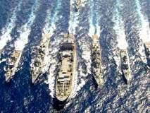 अरबी समुद्रात पाकिस्तान नौदलाचा युद्ध सराव; काही अघटित घडल्यास भारत उत्तर देण्यास सज्ज