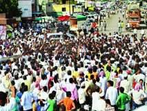Vidhan sabha 2019 : लातुरात उमेदवारीवरून रणकंदन! औश्यात पालकमंत्र्यांची गाडी अडविली