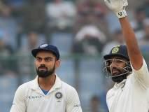 India vs South Africa, 2nd Test : रोहितच्या द्विशतकाबद्दल प्रश्न विचारताच कोहली पत्रकारांवर भडकला...