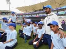 ICC World Cup 2019 : कॅप्टन कोहली, हार्दिक पांड्यानं भरवली शाळा!