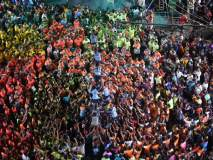 नवी मुंबईत दहीहंडीचा उत्साह, साई तेजस प्रतिष्ठाननंही रचले थरावर थर