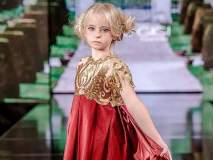'या' ९ वर्षाच्या मुलीची फॅशन विश्वात रंगली चर्चा, का ते फोटो पाहूनच कळेल....