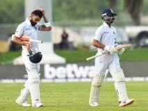 India vs South Africa, 1st Test : भारतानं ठेवलं आफ्रिकेसमोर तगडं आव्हान, पाहुण्यांना फुटलाय घाम