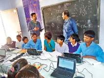 मोडी लिपीने सुरु झालेल्या शाळेचे विद्यार्थी गिरवणार संगणकावर धडे
