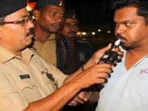 नागपुरात दारुड्या वाहनचालकांवर कडक कारवाई : पाच हजारांचा दंड
