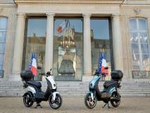 भारताच्या ताफ्यात राफेल; तर फ्रान्सच्या राष्ट्रपतींच्या ताफ्यात मेड इन इंडिया स्कूटर